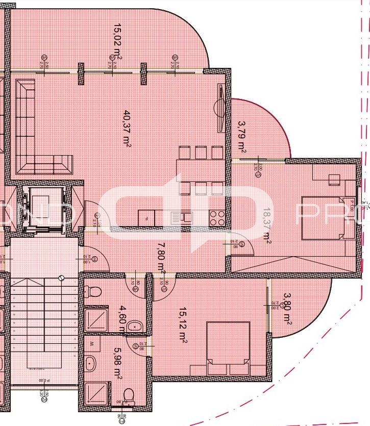 План апартаментів